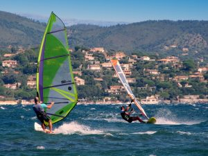 Windsurf in South of France, French Riviera