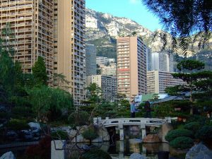 Japanska trädgårdar Monaco