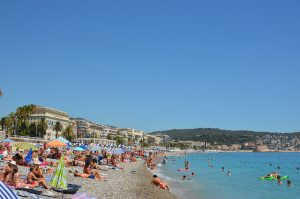 Beaches in Nice France