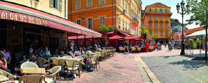 the Civette du Cours (2 Cours Saleya) is always full. Favorite restaurant of Nice