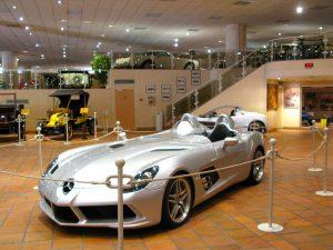 Samlingsbilarna från Prince Rainier III Monaco