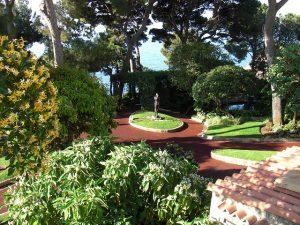 Monaco Ville - St Martin's Gardens & Theatre Du Port Antoine