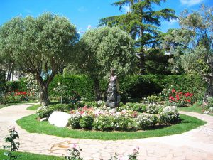 The Fontvieille Landscape Park and the Rose Garden of the Princess Grace of Monaco