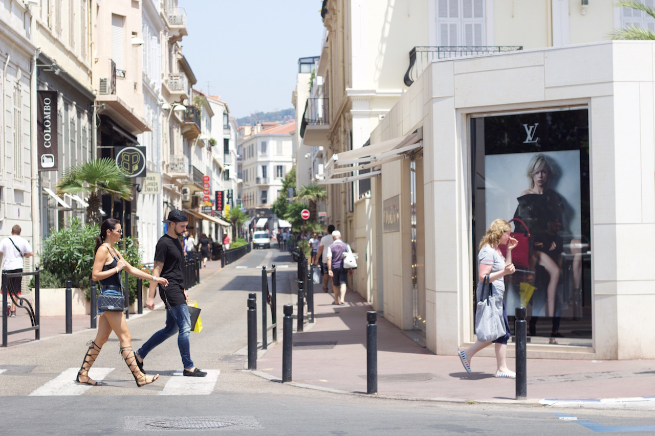 Promenade de La Crоіѕеttе - Cannes Frankrike