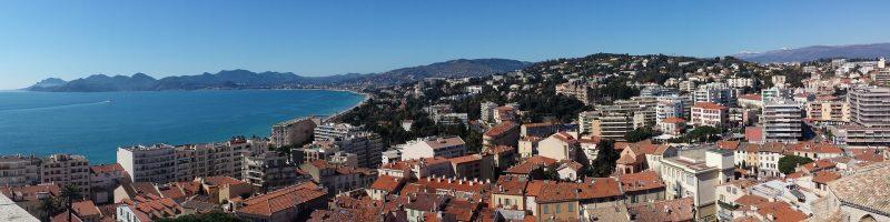 Franska Rivieran Karta