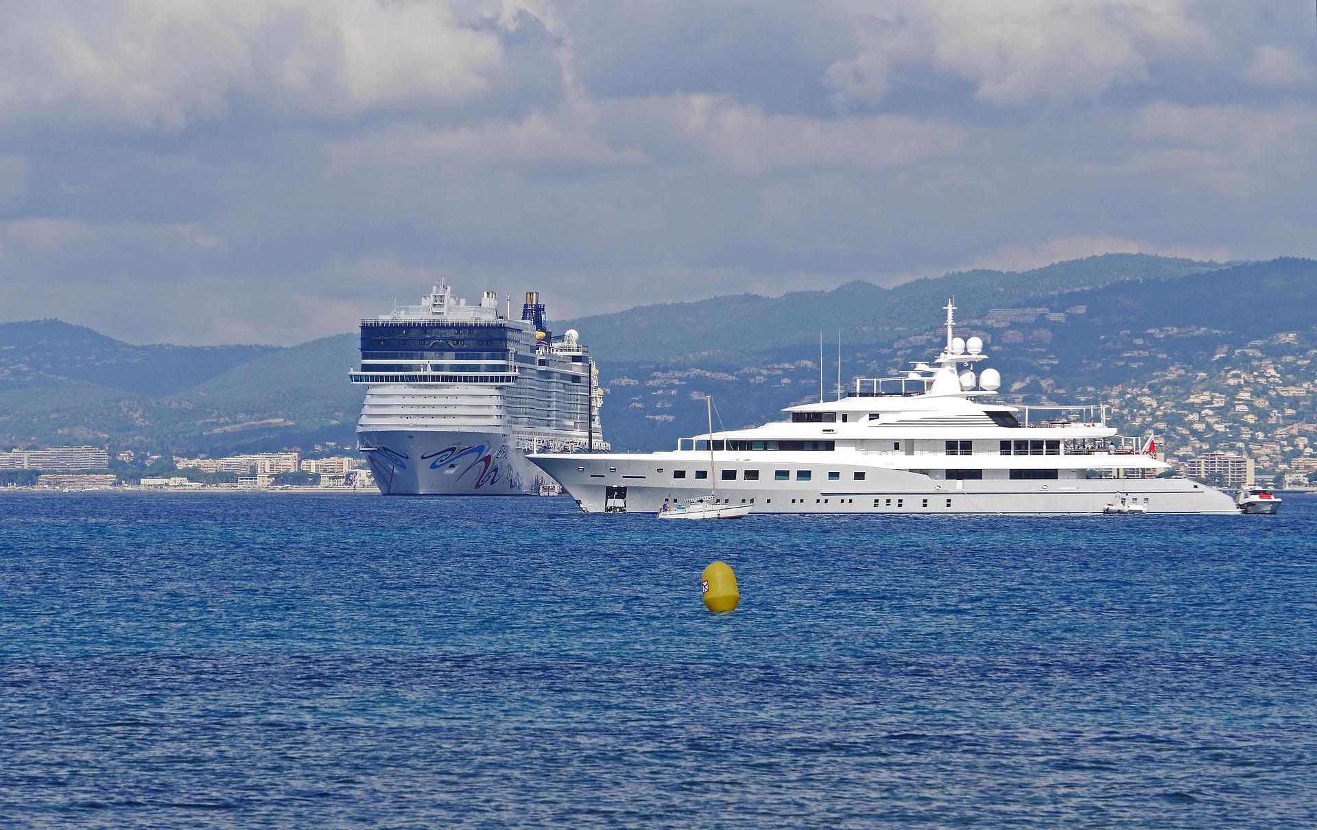 Vänder Cannes Franska Rivieran