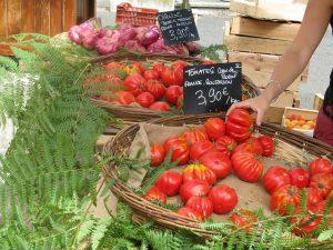 Franska Tomater Nice Frankrike