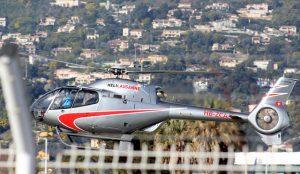 helikopter till cannes frankrike