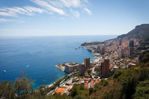 Monaco Montecarlo from above