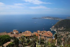 Mountain village Eze french riviera
