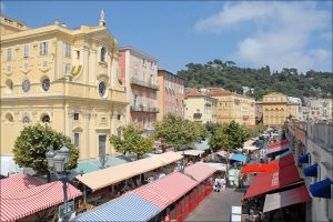 Cours Saleya Nice France