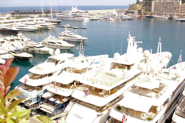 Monaco Montecarlo Port