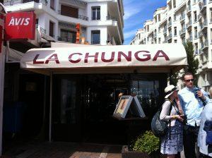 la chunga cannes restaurang