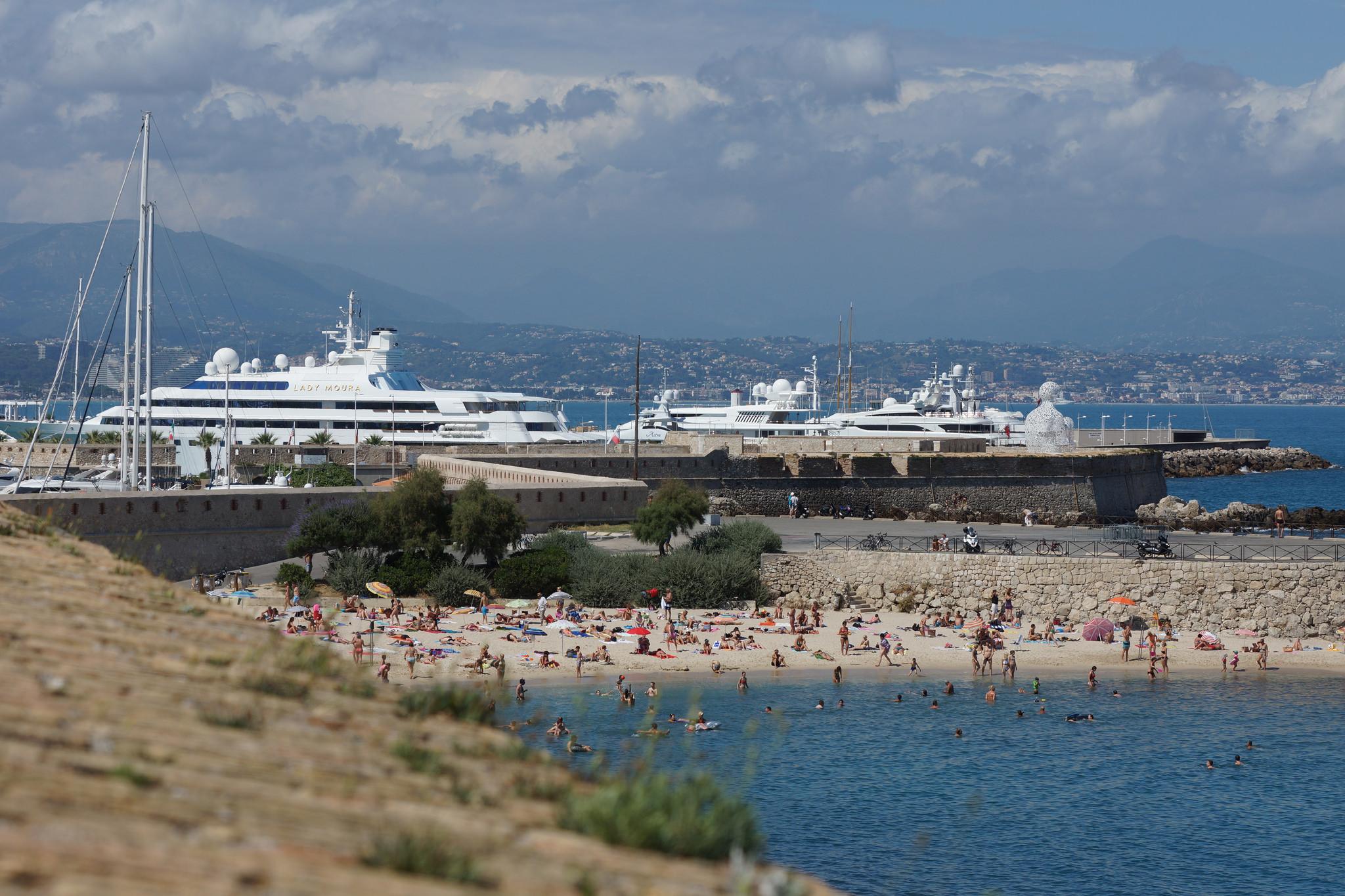 Strand Antibes