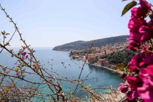 View of the Mediterranean in Villefranche-sur-Me