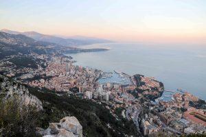 view over Monaco