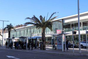 Cannes train station Gare de Cannes
