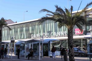 Cannes train station SNCF