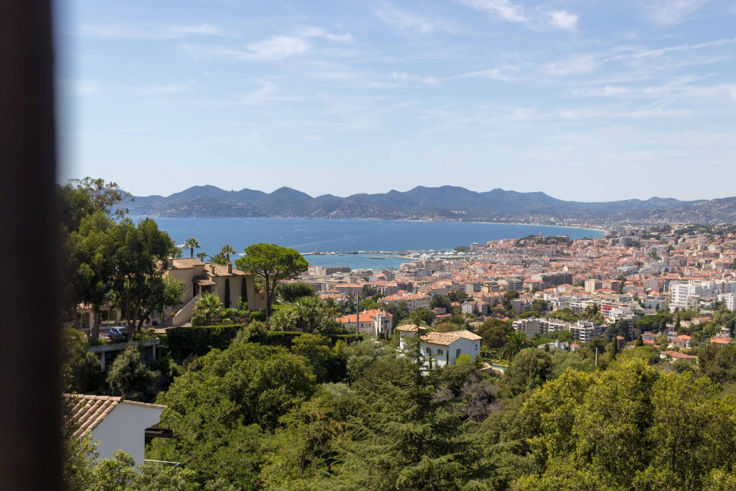 View over Cannes, France