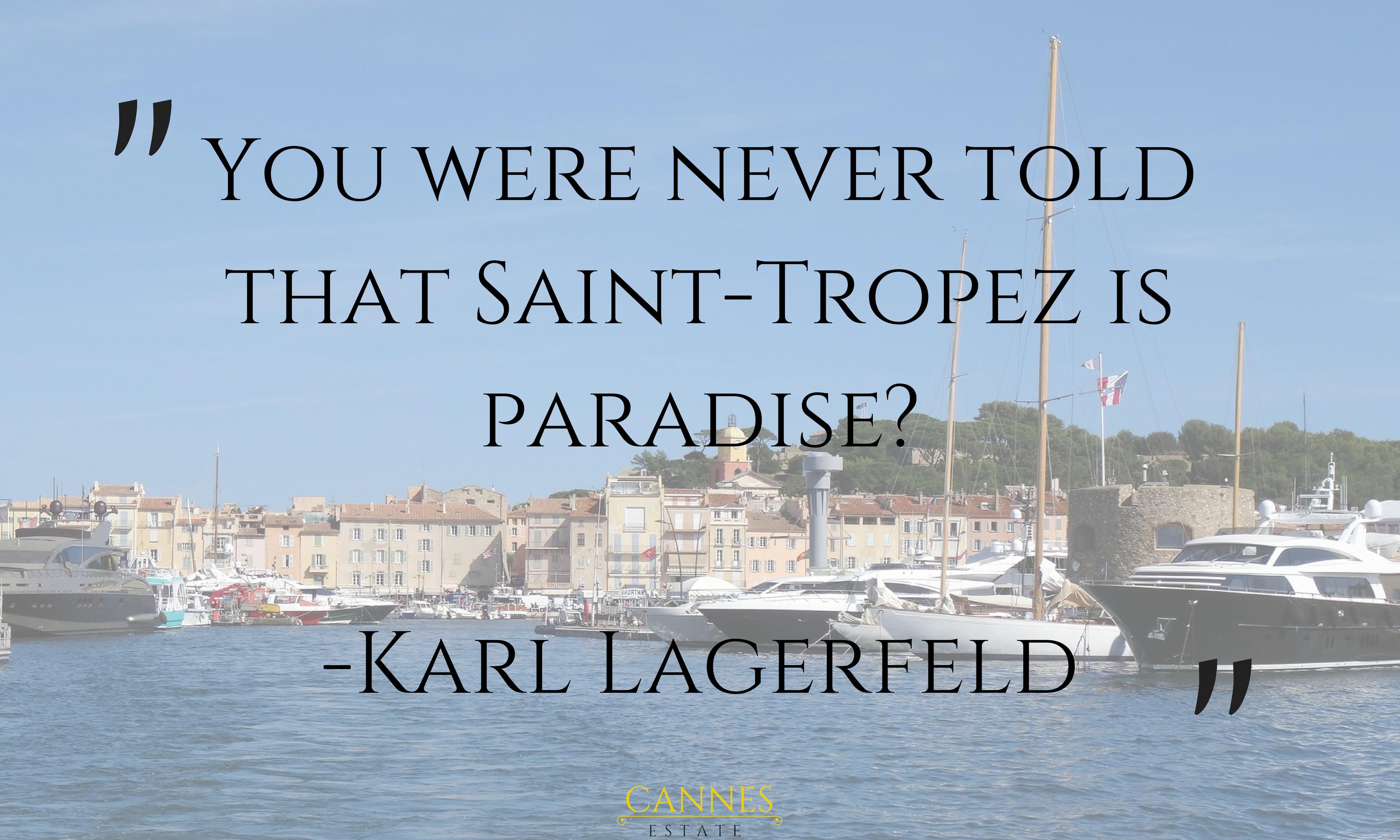 Saint-Tropez quote