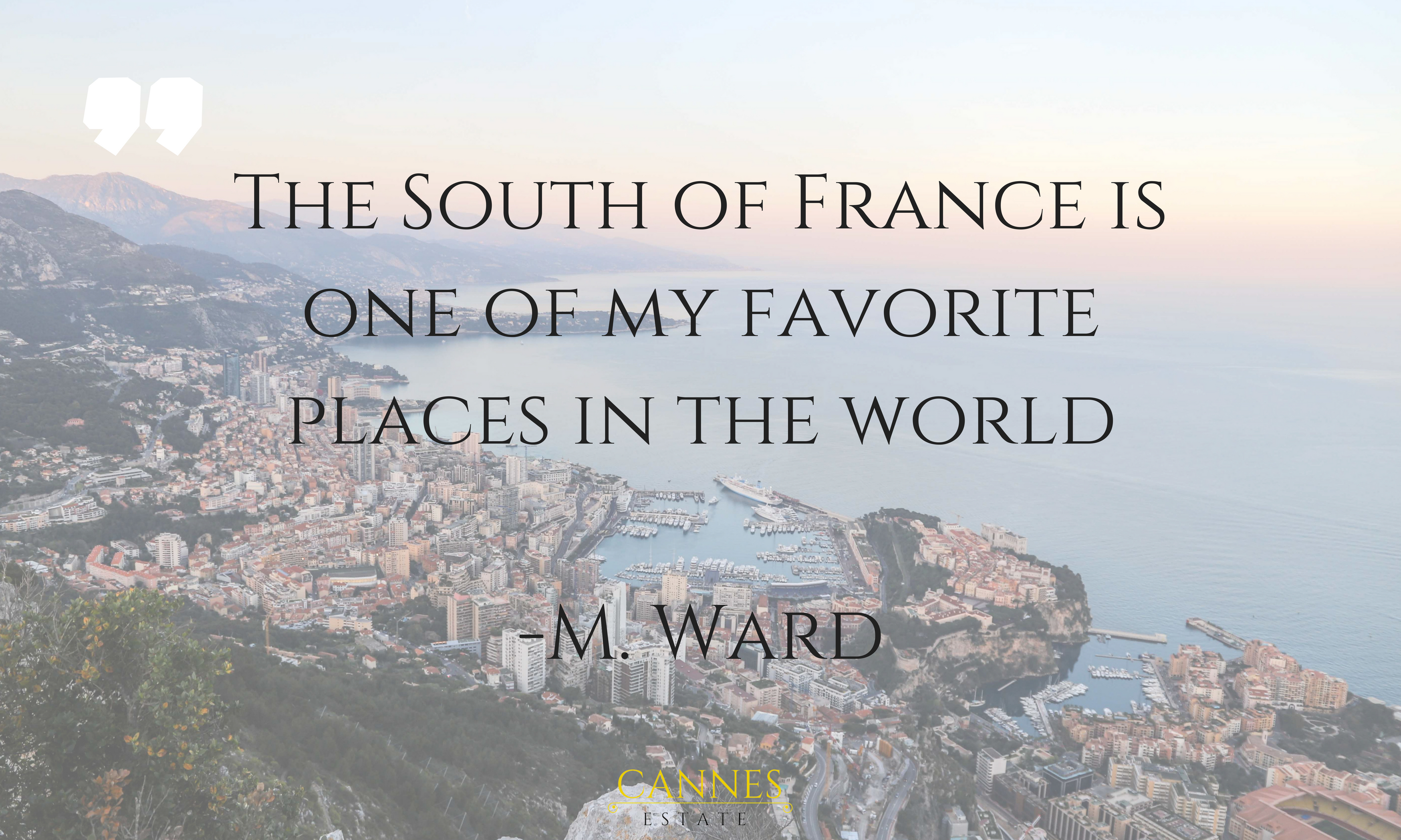 South of France quote