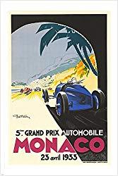 Monaco grand prix souvenirs