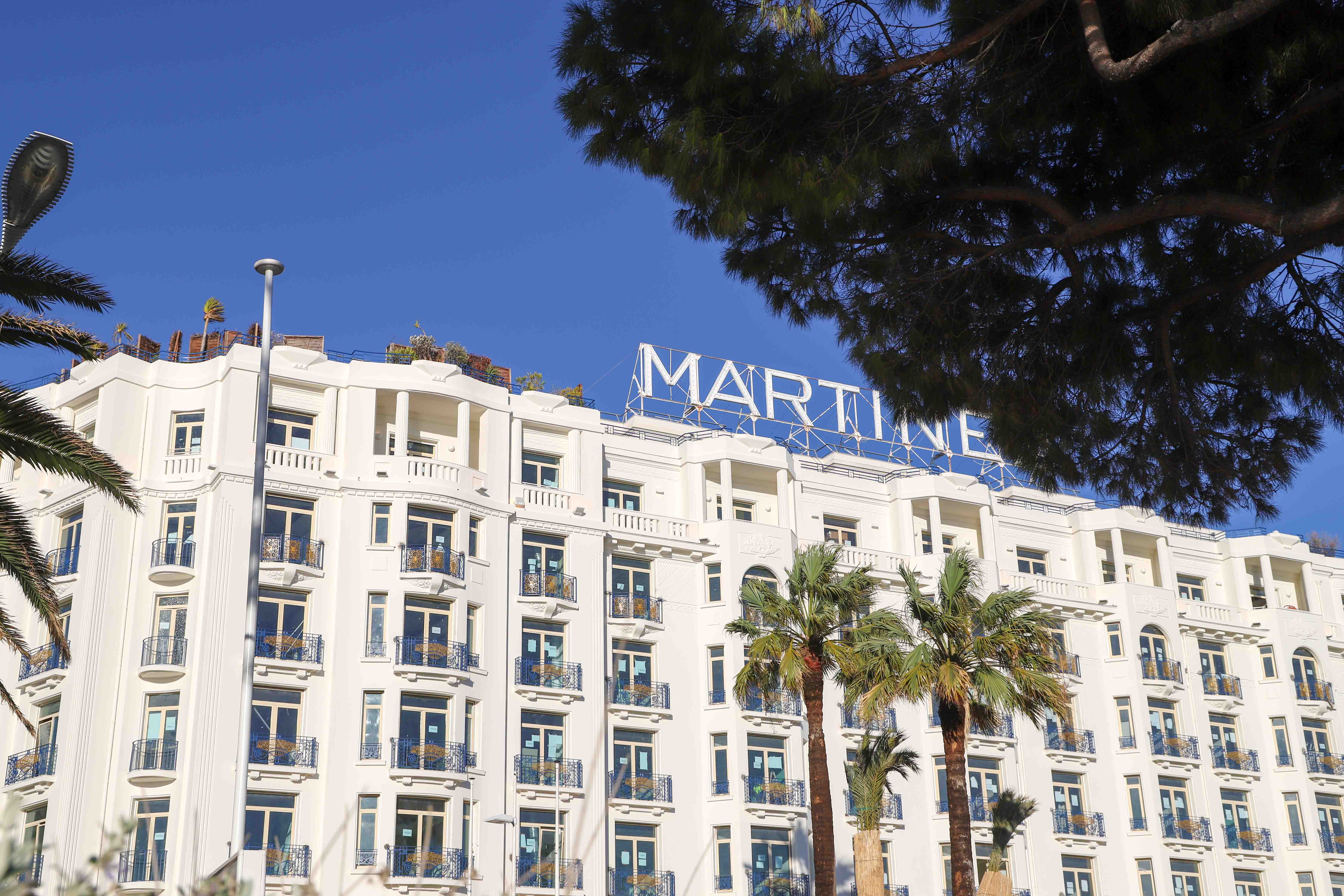 Martinez hotel Cannes