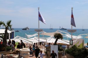 Cannes Shopping street Croisette