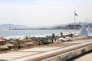 Cannes Croisette beach France