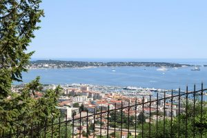 View over Antibes