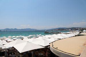 Cannes Croisette beaches