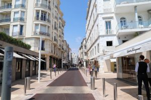 Cannes shopping street