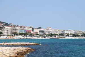 Cannes coastline