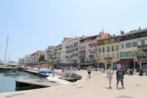 Cannes old harbour