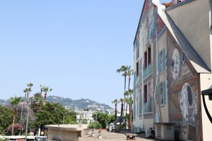 Cannes wall paintings