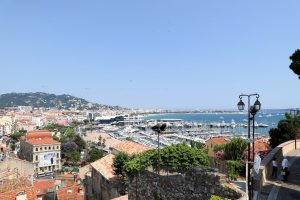 View over Cannes France