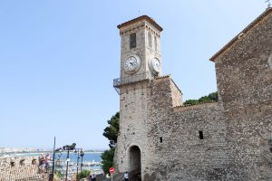 Cannes old town watchtower