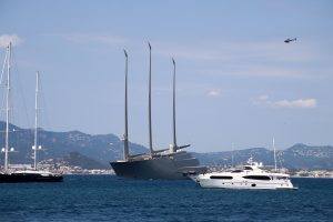World's largest sailboat A