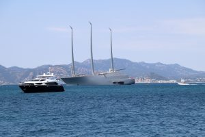 World's largest sail boat A French Riviera