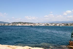 Cannes waters
