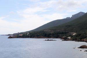 French Riviera Esterel mountains
