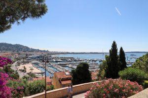 Cannes Croisette view