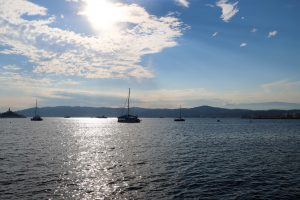 Antibes waters