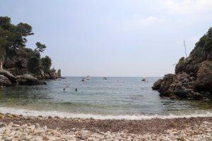 French Riviera swimming