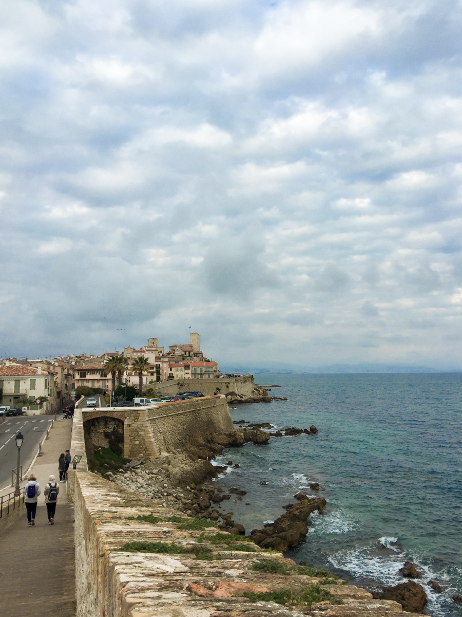 Old town of Antibes