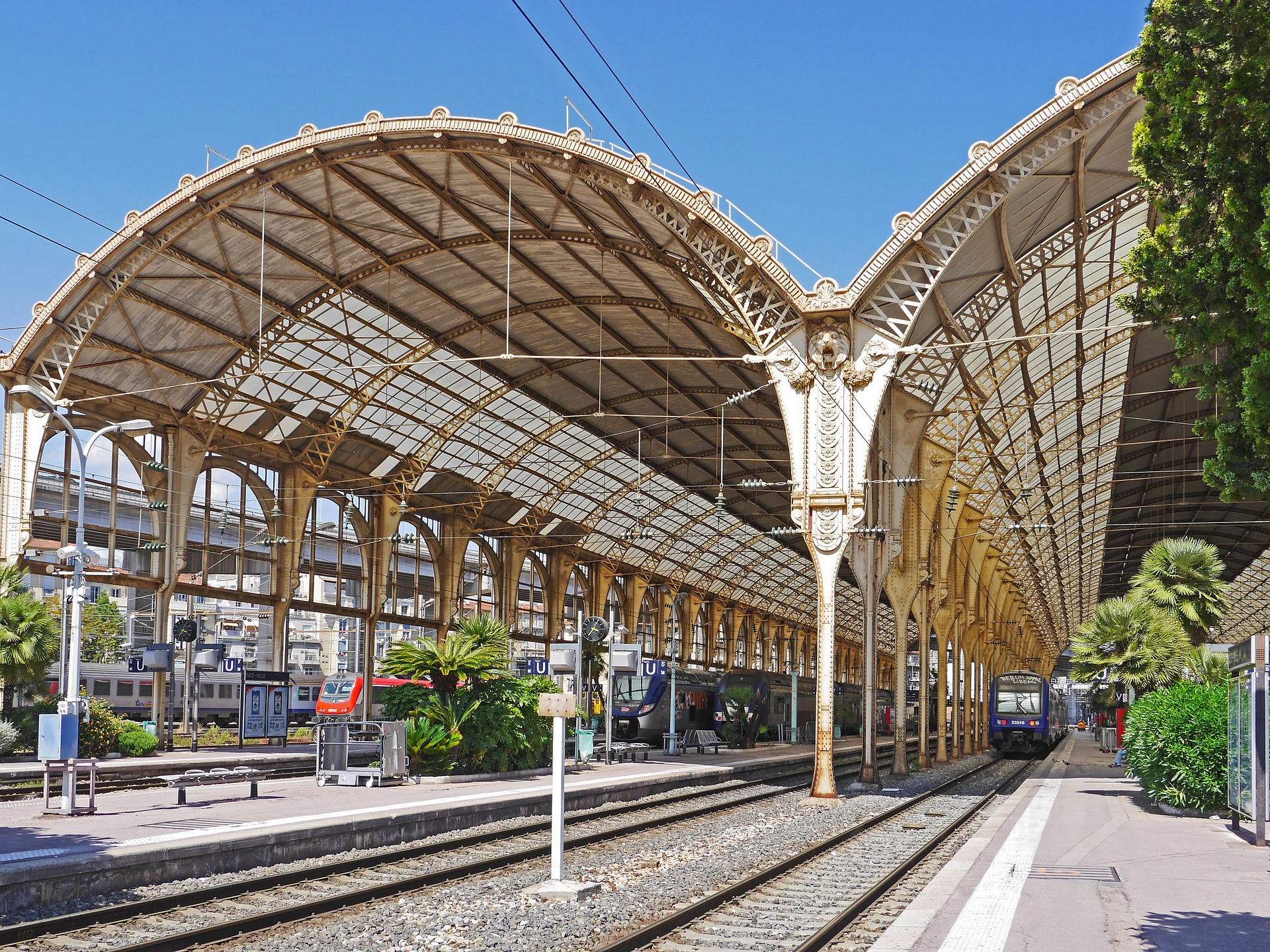Nice train Station Gare de Nice